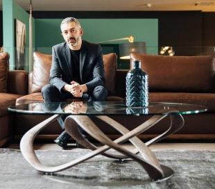 Stefano Bigi featuring Infinity coffee table - design by Stefano Bigi for Porada / Credit photo Porada