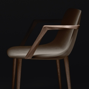 VENDOME Armchair for Veblén